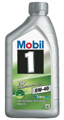 Моторное масло Mobil 1™ ESP 0W-40