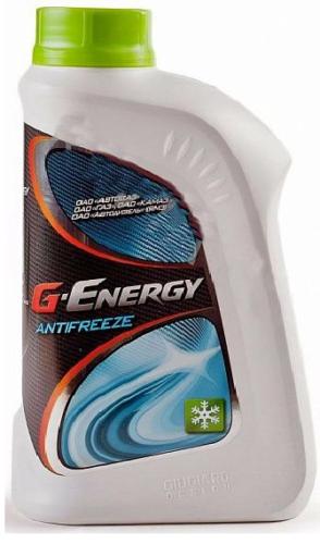 Антифриз G-ENERGY ANTIFREEZE зеленый (Конц.)