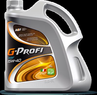 Масло моторное G-PROFI MSF 15W-40