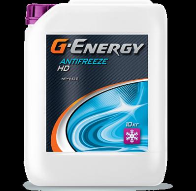 Антифриз G-ENERGY ANTIFREEZE HD фиолетовый (Конц.)