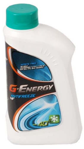 Антифриз G-ENERGY ANTIFREEZE NF -40 сине-зеленый