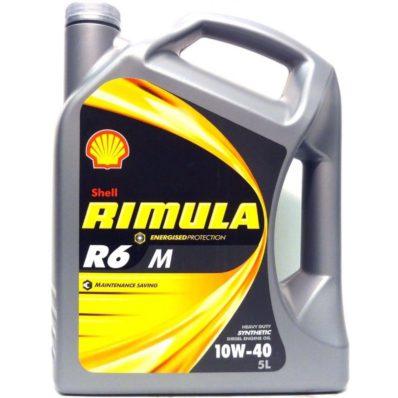 Моторное масло SHELL RIMULA R6 M 10W-40 (E7, 228.5)