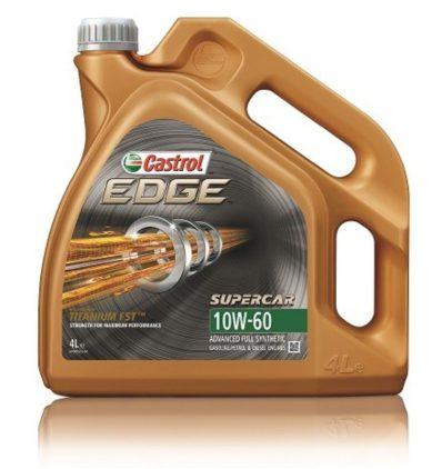 Моторное масло синтетическое CASTROL EDGE 10W-60
