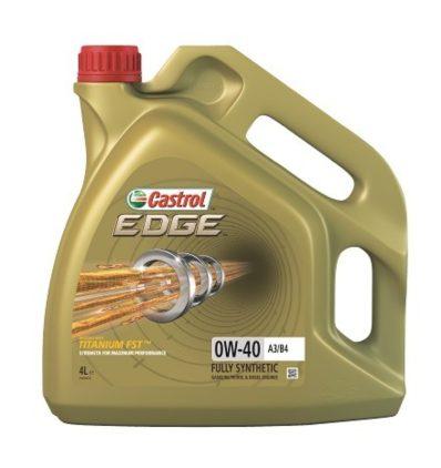 Масло моторное синтетическое CASTROL EDGE 0W-40 A3/B4