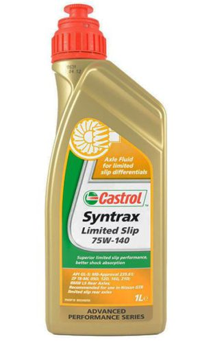 Трансмиссионное масло CASTROL SYNTRAX LONG LIFE 75W-140