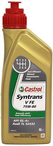 Трансмиссионное масло для МКПП CASTROL SYNTRANS V FE 75W-80