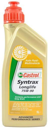 Масло трансмиссионное для редукторов CASTROL SYNTRAX LONG LIFE 75W-90