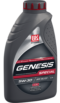 Синтетическое моторное масло ЛУКОЙЛ GENESIS SPECIAL A5/B5 5W-30