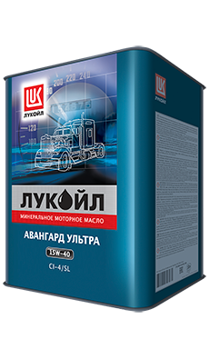Моторное масло ЛУКОЙЛ АВАНГАРД УЛЬТРА 15W-40