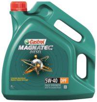 Моторное масло синт. CASTROL MAGNATEC DIESEL 5W-40 DPF