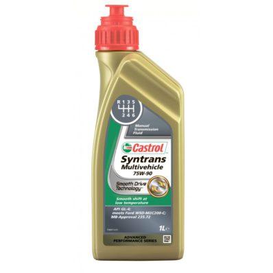 Трансмиссионное масло для МКПП CASTROL SYNTRANS MULTIVEHICLE 75W-90