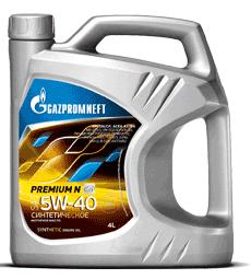 Масло моторное Gazpromneft Premium N 5W-40