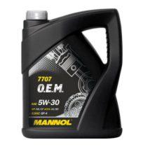 Моторное масло синт. MANNOL 7707 O.E.M. 5W-30