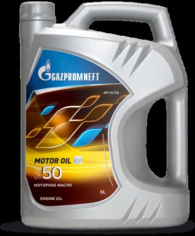 Масло моторное Gazpromneft Motor Oil 50