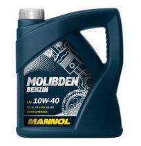 Масло моторное полусинтетическое MANNOL Molibden Benzin 10W-40