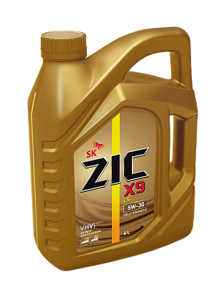 Синтетическое моторное масло ZIC X9 LS 5W-30