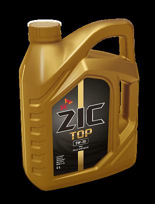 Моторное синтетическое масло ZIC TOP 5W-30