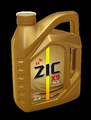 Моторное масло синтетическое ZIC X9 5W-30