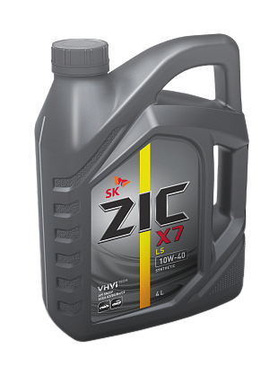 Синт. моторное масло ZIC X7 LS 10W-40