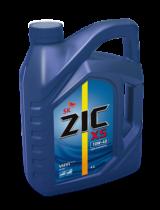 Моторное мало синтетическое ZIC X5 10W-40