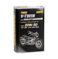Масло для четырехтактных двигателей MANNOL 7808 V-Twin 20W-50