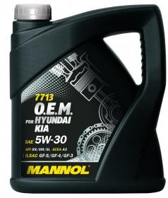 Масло моторное синтетическое MANNOL 7713 O.E.M. 5W-30