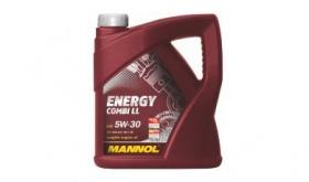 Моторное масло синтетическое MANNOL Energy Combi LL 5W-30