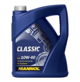 Масло моторное полусинтетическое MANNOL Classic 10W-40
