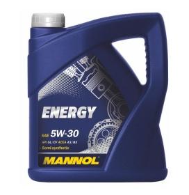 Масло полусинтетическое моторное MANNOL Energy 5W-30 SL