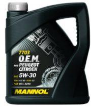 Масло синтетическое моторное MANNOL 7703 O.E.M. 5W-30