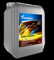 Масло моторное полусинт. Gazpromneft Diesel Premium 5W-40