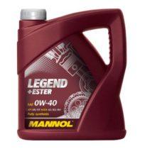 Масло моторное синт. MANNOL Legend+Ester 0W-40