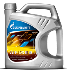 Масло для АКПП Gazpromneft ATF DX III
