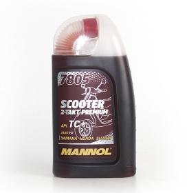 Масло для двухтактных двигателей MANNOL 7805 Scooter 2-Takt Premium