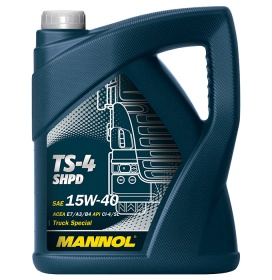 Моторное масло MANNOL TS-4 SHPD EXTRA 15W-40