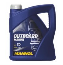 Масло для двухтактных двигателей   MANNOL Outboard Marine