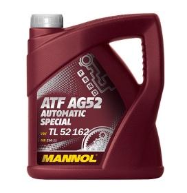 Масло трансмиссионное синтетическое для АКПП MANNOL ATF AG52 Automatic Special