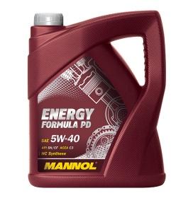 Синтетическое моторное масло MANNOL Energy Formula PD 5W-40