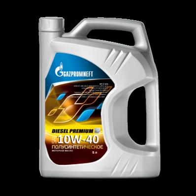 Масло моторное полусинт. Gazpromneft Diesel Premium 10W-40