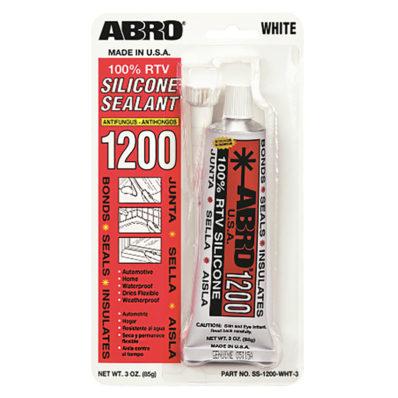 ABRO 1200 Герметик силиконовый универсальный (Белый)