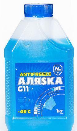 АЛЯСКА Antifreeze G11 -40 (Синий)