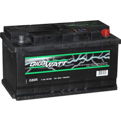 Аккумулятор GIGAWATT 580 406 074 G80R