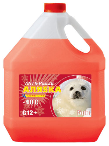 АЛЯСКА Antifreeze Long Life G12+ -40 (Красный)
