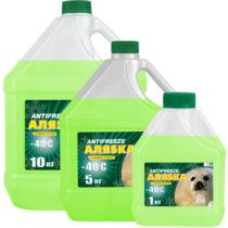 АЛЯSКА Antifreeze G11 -40 (Зелёный)
