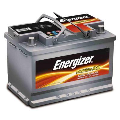 Аккумулятор Energizer Premium AGM 570 901 076 EA70-L3