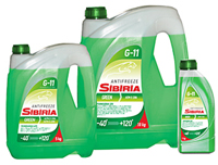 SIBIRIA Антифриз -40 (Зелёный)