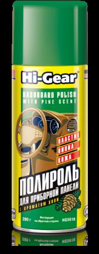 Hi-Gear Полироль торпеды (Хвоя)