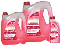 SIBIRIA Антифриз -40 (Красный)