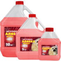 АЛЯSКА Antifreeze G11 -40 (Красный)