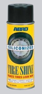 ABRO Блеск для шин силиконовый